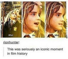 Comment if you love Hermione! - Comment if you love Hermione! Comment if you love Hermione! Comment if you love Hermione! Harry Potter Puns, Harry Potter Universal, Harry Potter Hair, Sassy Harry Potter, Harry Potter Wattpad, Female Harry Potter, Hogwarts, Fandoms, Harry Potter Pictures