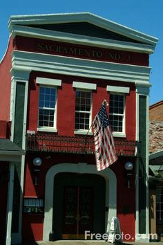 Firehouse restaurant in Old Sacramento