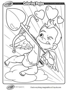 Where to Find the Cutest Printable Valentine's Day Coloring Pages: Valentine Coloring Pages From Crayola