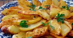 uvodni_brambory Czech Recipes, Potato Recipes, Vegetable Recipes, Vegetarian Recipes, Cooking Recipes, Salty Foods, Fast Dinners, Food 52, Tasty Dishes