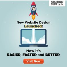 Now It's Easier, Faster and Better: Checkout New Designs, Features and Shipping Options at PackingSupply. News Website Design, Packing Supplies, Corrugated Box, Shipping Supplies, Then And Now, Stand Up, Bubbles, Product Launch, Packaging