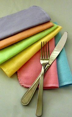 Napkins  Easter Decor  30 Easter Cloth Napkins  by moocowmomma, $35.97