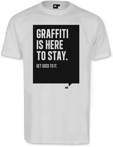 Graffiti is here to stay. Bald bei uns!