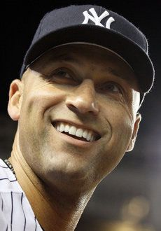 NY Yankees - Derek Jeter.  Doesn't want his hot start jinxed.  I'm hoping when Mariano gave up a grand slam in the season opener was not a jinx for the Yankees this year.