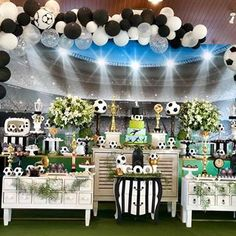 Soccer Birthday Parties, Soccer Party, Sports Party, Angel Baby Shower, Soccer Banquet, Ideas Para Fiestas, Holidays And Events, Party Time, Education