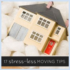 17 stress-less tips for moving house. Read this before you move!