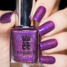 A-England Crown of Thistles Nail Polish (Elizabeth and Mary Collection   Live Love Polish