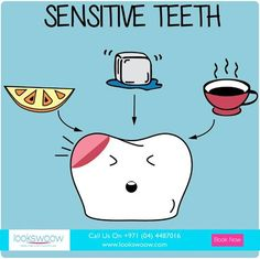 Do you suffer from sensitive teeth? Do your best to avoid hot, cold, and sour food or drinks to save your teeth from the pain associated with sensitivity.