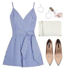 """Untitled #1102"" by hi-its-shannon ❤ liked on Polyvore featuring Finders Keepers, Chloé, Topshop, Ciaté and Zara"