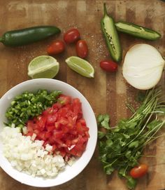 Can you eat pico de gallo year round? Sure you can! It's ready in a flash and fresh is always better than store bought.