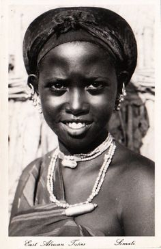 """Vintage Postcards from Somalia Top to bottom """"East... - Africa Afrika"""