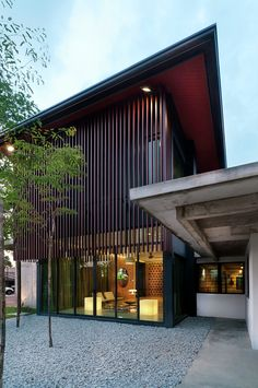 Completed in 2015 in Petaling Jaya, MalaysiaA new two storey residential in the existing established suburb of Section 14, Petaling Jaya. The new extension integrates with the existing old...