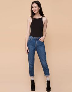 RIBBED SWIMSUIT - T-SHIRTS AND TOPS - WOMAN - PULL&BEAR Indonesia