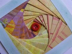 New to Iris Folding? Learn how to do iris folding with this how-to tutorial. Iris Folding Templates, Iris Paper Folding, Iris Folding Pattern, Card Making Tutorials, Card Making Techniques, Making Ideas, Unique Cards, Creative Cards, Paper Cards