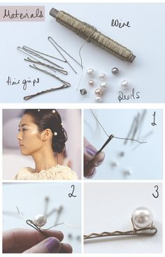 Lotts and Lots | Making the everyday beautiful: DIY - Chanel Pearl Clips