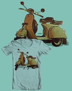 Up for scoring : http://www.threadless.com/submission/425593/Vespa