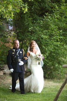 Sophia Tolli Real Bride ~  we ❤ this!  moncheribridals.com  #weddingdresses #weddinggowns