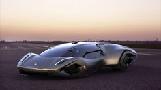 Bizzarrini Veleno Concept Car by Borys Dabrowski