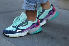 Fashion and block footwear apparel, quest our assortment of chic streetwear trainers and swimming sneakers. Adidas Outfit, Adidas Shoes, Shoes Sneakers, Sneakers Fashion Outfits, Fashion Shoes, Souliers Nike, Dad Shoes, Popular Shoes, Cute Shoes