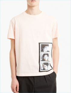 Crafted from premium cotton and cut to offer an oversized fit, this t-shirt features a Robert Mapplethorpe image printed to the front as part of Raf Simons' collaboration with the controversial photographer's eponymous Foundation.