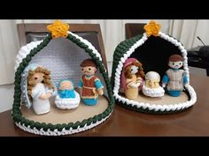 Christmas Nativity, Christmas Ornaments, Diy Ribbon, Christmas Decorations, Holiday Decor, Crochet Projects, Decoupage, Knitting Patterns, Quilling