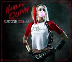 DIY Harley Quinn Suicide Squad Tutorial