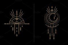 Mandala Set - Tribal Shaman - Illustrations - 2