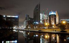 The Hague City @ Night by DolliaSH, via Flickr