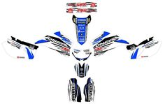 YAMAHA WR 450F, WRF450, Graphics decals!! excellent quality, competition!!