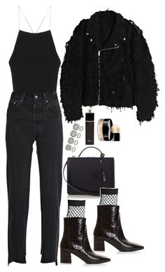 """""""Untitled #1906"""" by samikayy76 ❤ liked on Polyvore featuring Vetements, Mark Cross, Givenchy, Faustine Steinmetz, Topshop, Christian Dior and Chanel"""
