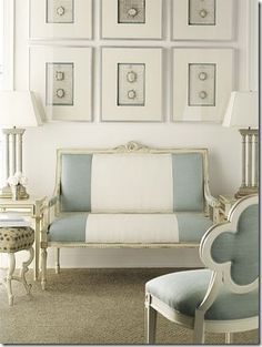Family Room Design Inspiration, Pictures, Remodels and Decor timeless elegance. Modern home design Bedroom by Suzanne Kasler Suzan. Living Room Decor, Living Spaces, Living Rooms, Bedroom Decor, Wall Decor, Home Interior, Interior Design, Hickory Chair, My New Room