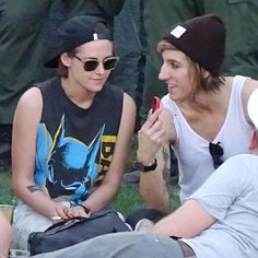 Pin for Later: Kristen Stewart and Alicia Cargile Kick Back and Relax at Coachella