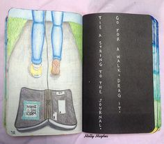 Kös madzagot a naplóhoz!Menj sétálni...