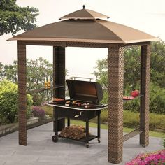 Aluminum Grill Gazebo | Barbecue | Pinterest | Decorating