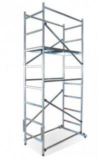 Trabattello per interni  155x75 cm  altezza Lavoro  mt. 4,50