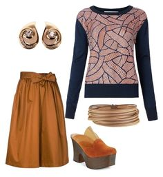 """""""coffee time"""" by mcounce on Polyvore featuring Diane Von Furstenberg, Tome, Free People, Alor and Christian Dior"""