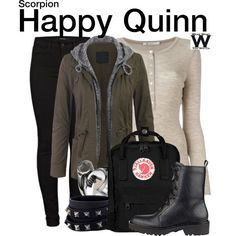 Inspired by Jadyn Wong as Happy Quinn on Scorpion.