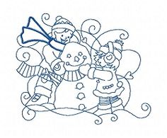 Enchanted Winter 12 - 3 Sizes! | What's New | Machine Embroidery Designs | SWAKembroidery.com Sealed With A Stitch