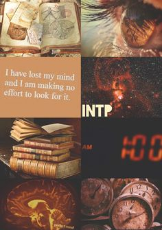 INTP aesthetic. I have actually had that space picture as the background on my computer before