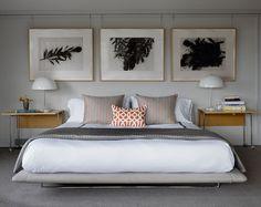 Transitional Bedroom by John K. Anderson Design