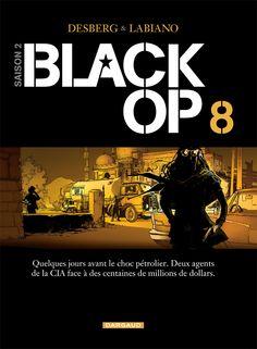 Black OP tome 8 par Stephen Desberg et Hugues Labiano. Sortie le 7 novembre 2014. #Dargaud #BD