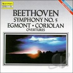 Beethoven, Ludwig van, 1770-1827.  [Symphonies, no. 5, op. 67, C minor]  Symphony no. 5, overtures [sound recording] / Beethoven. Publication info: Roswell, Ga. : Intersound, 1988.   1 sound disc (ca. 49 min.) : digital, stereo. ; 4 3/4 in. Formato CD Call number M1004.B44 S96 1988