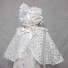 Christening Cape Baptism Cape Christening Wear Baby Girl