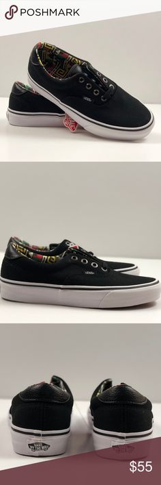 605c178466 Vans Era 59 C amp L Black Geo Skate Shoes. Vans Era 59 C amp