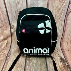 Animal Worldwide Freeride Backpack Rucksack Bottle Holder Skater Skateboarding
