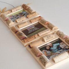 Photo frames made of cork / Рамки для фото из пробки