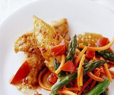 Enjoy this sweet and savory chicken recipe any night of the week! Balsamic vinegar adds a boost of flavor and makes this dish unique. With a start to finish cooking time of under 30 minutes, this is a quick and easy dinner meal that, when paired with vegetables, is a healthy recipe you'll cook time and time again.