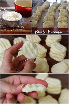 Se você procura uma receita de biscoito sem glúten que não tem erro, acaba de encontrar. Estes Sequilhos desmancham na boca, a receita leva apenas cinco ingredientes simples e o modo de preparo …