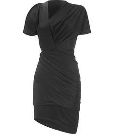 Halston Jersey Dress #fashiondress #women #JerseyDress #Jersey #Dresses #anoukblokker 2dayslook.com
