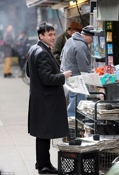 Robin Lord Taylor in Gotham as Penguin